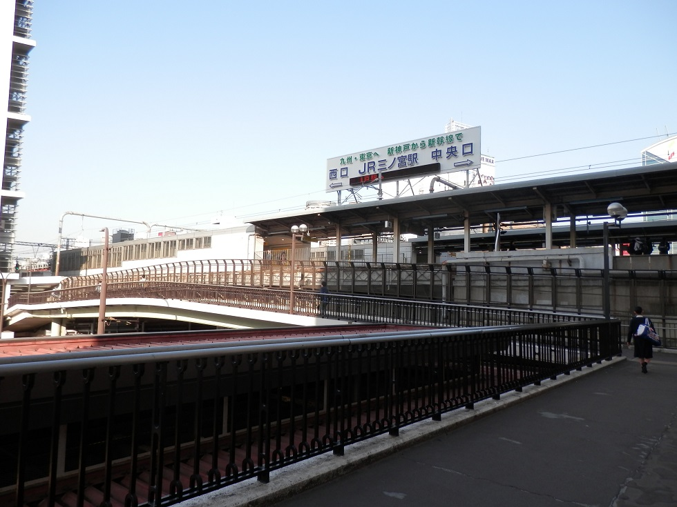 JR三ノ宮駅阪急神戸三宮駅連絡通路