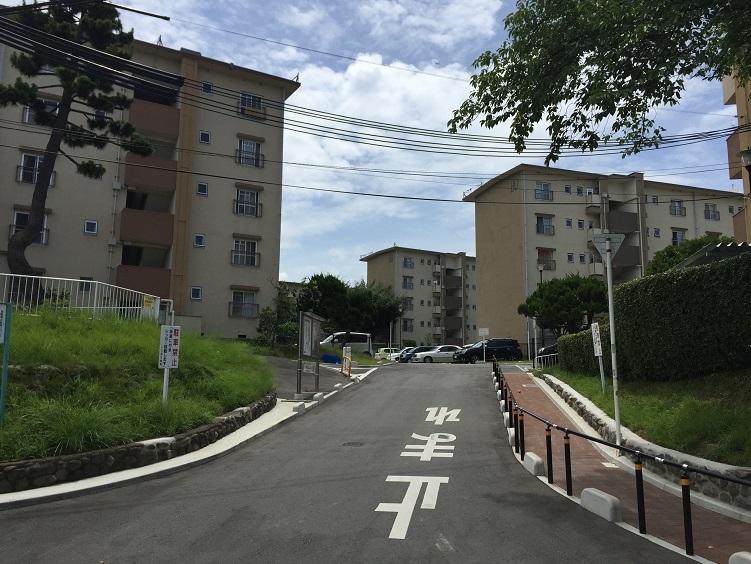 大阪府堺市西区向ヶ丘第二団地