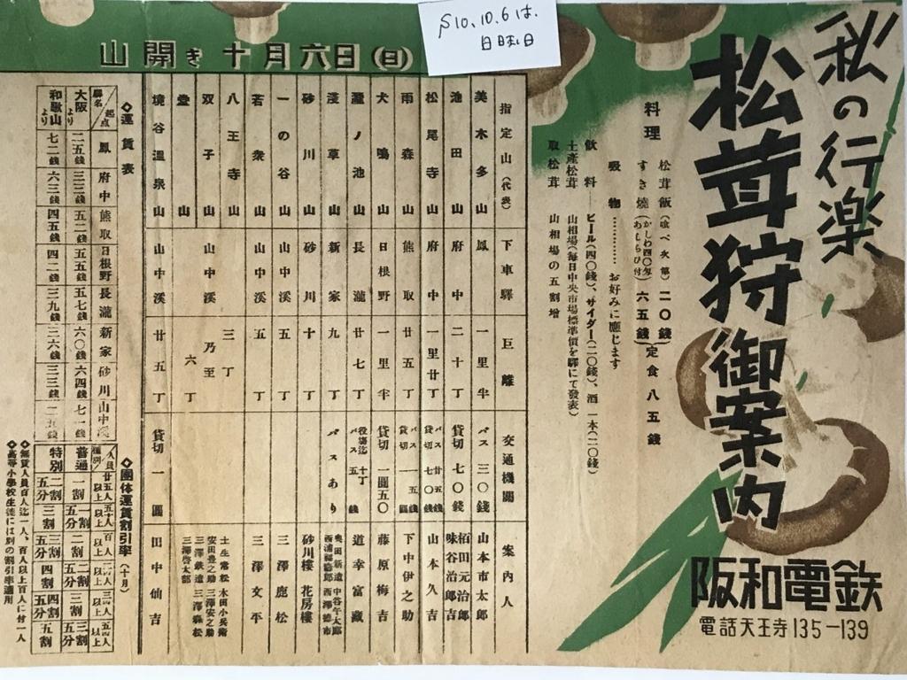 阪和電鉄広告