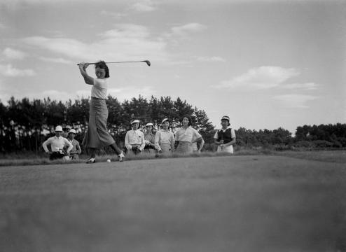 1936年女性ゴルファー