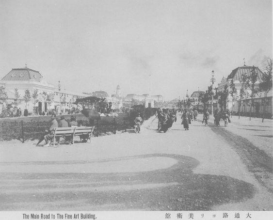 明治36年1903年大阪新世界内国勧業博覧会