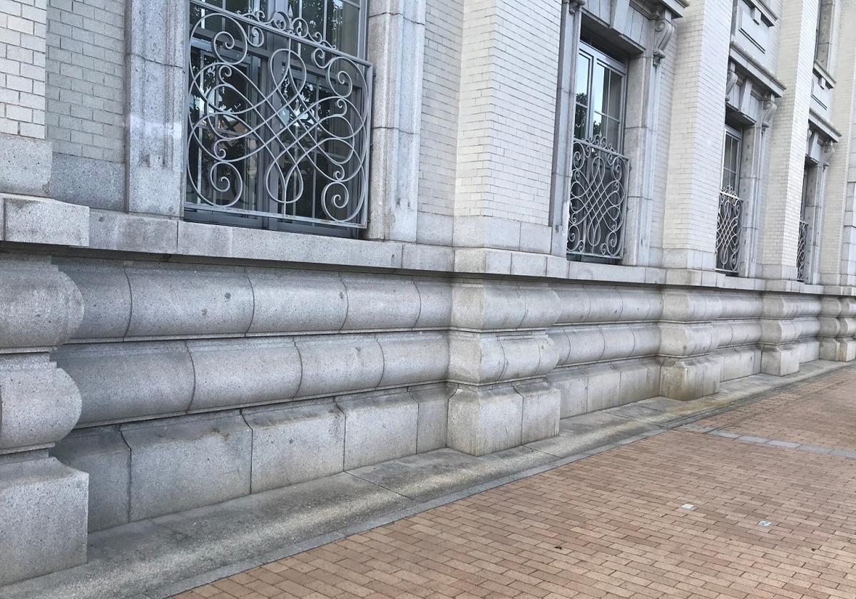 神戸郵船ビル空襲の跡