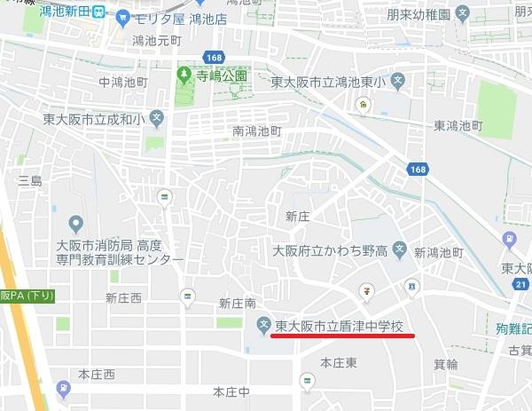 東大阪市盾津