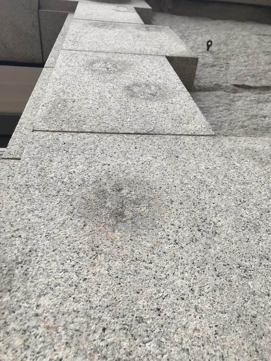 神戸元町海岸ビルヂング戦争銃痕