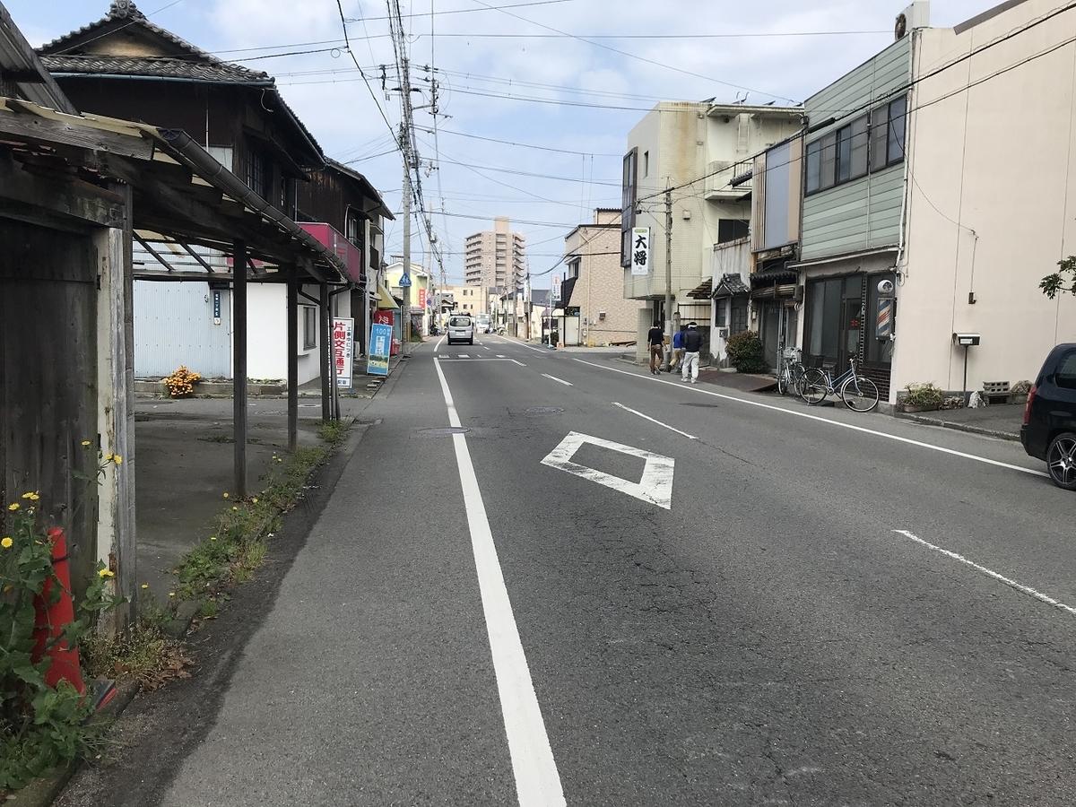 三津住吉1丁目松山電気軌道