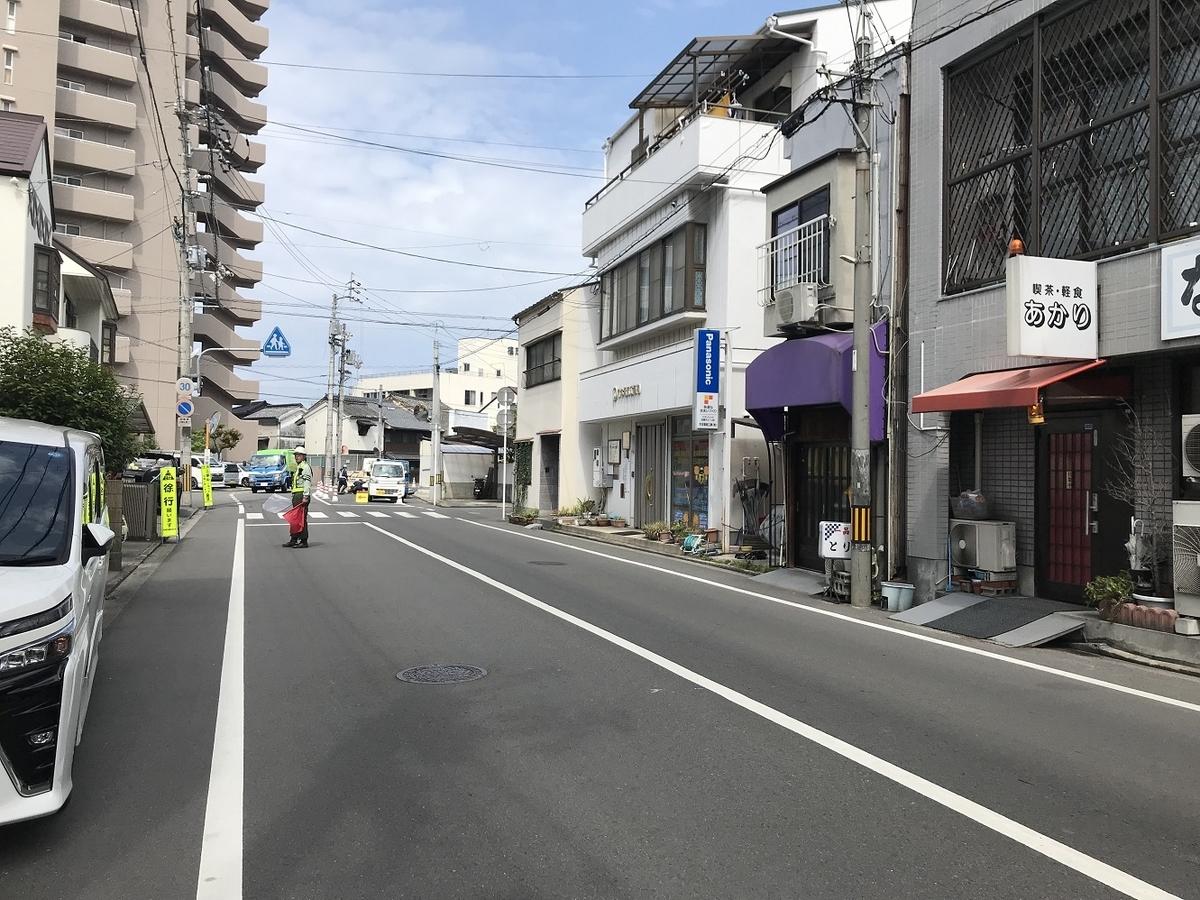 松山電気軌道江ノ口電停跡