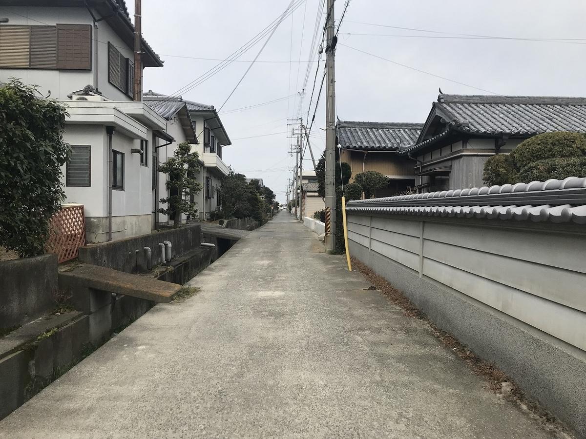 松帆脇田飛行場跡