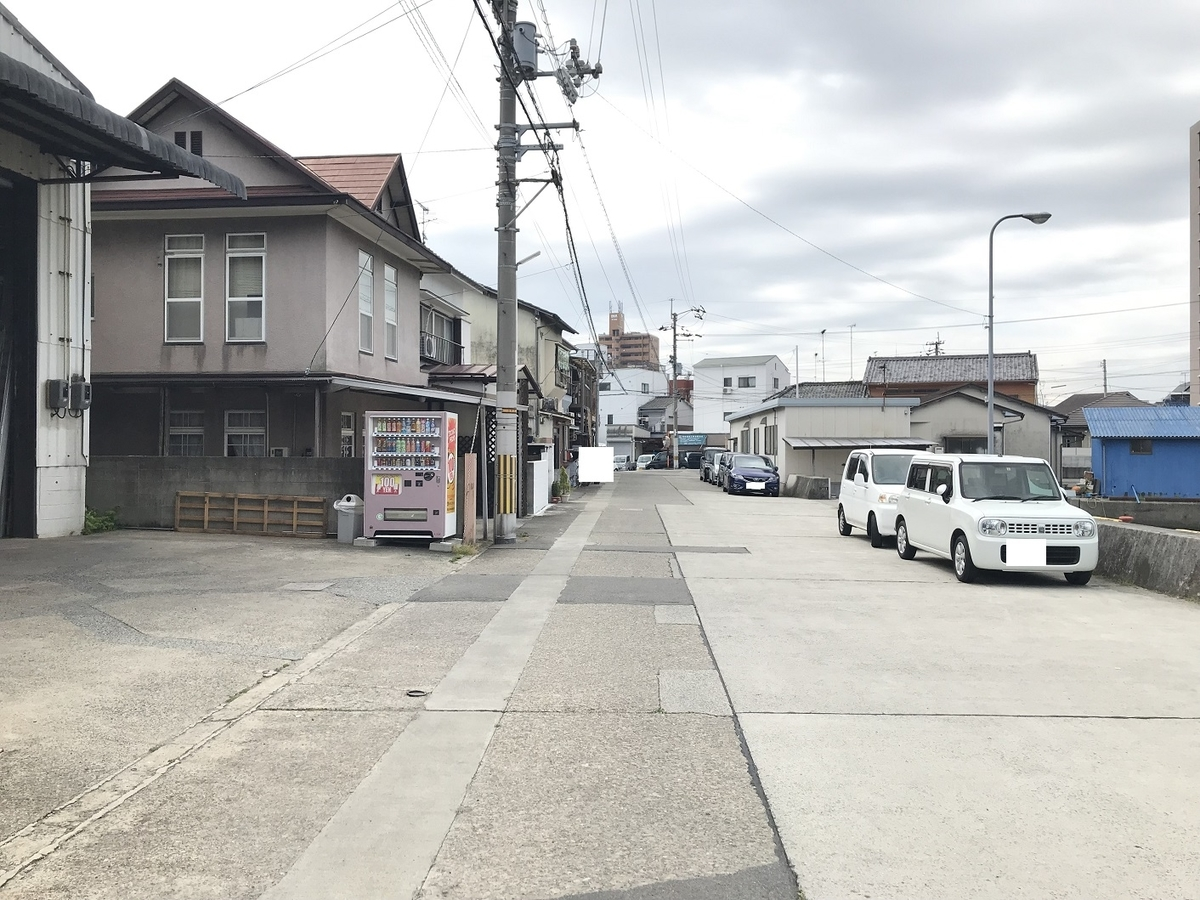 三津の稲荷新地
