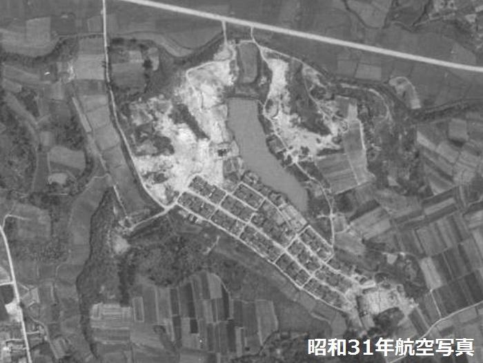 平岡堀上緑町昭和31年1956写真