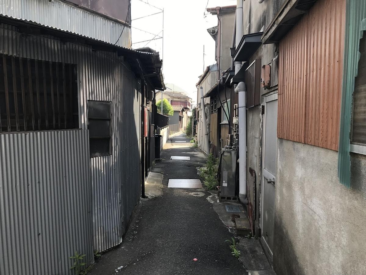 和歌山天王新地の昔の場所