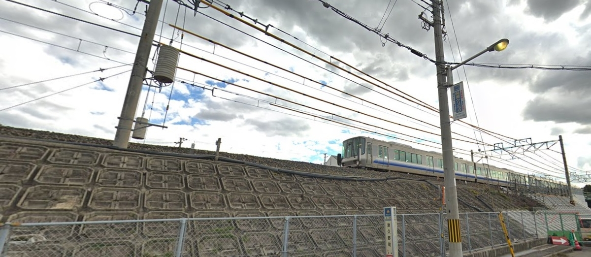 阪和線上野芝駅