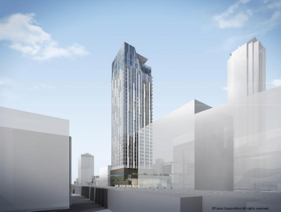 センタラグランドホテル大阪建設予定