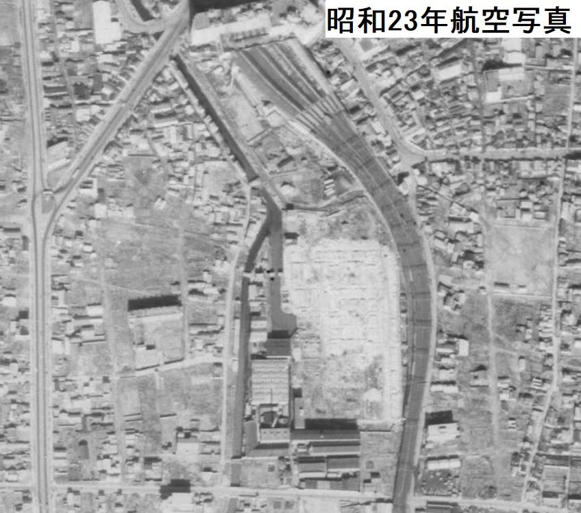 1948年難波航空写真