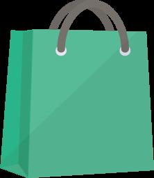 お店の袋の写真