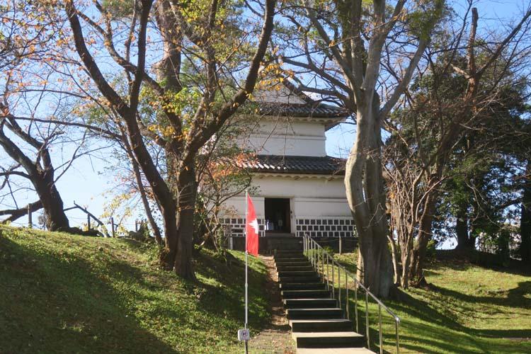 新発田城 旧二の丸隅櫓入口