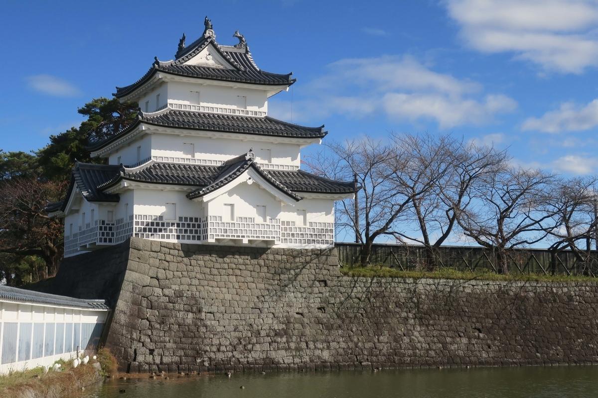 新発田城 御三階櫓