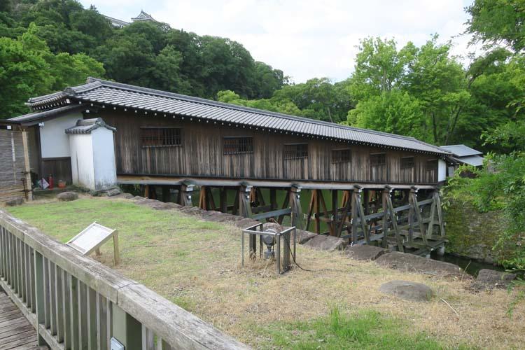 和歌山城 廊下橋