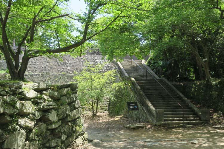 和歌山城 本丸跡