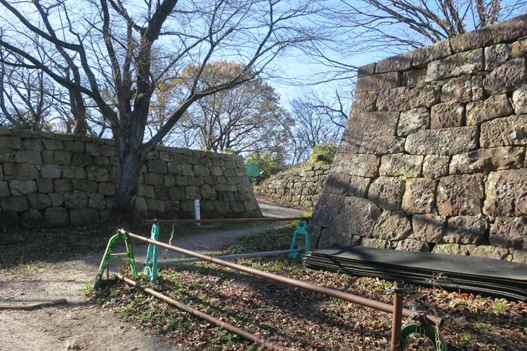 村上城 御鐘門跡