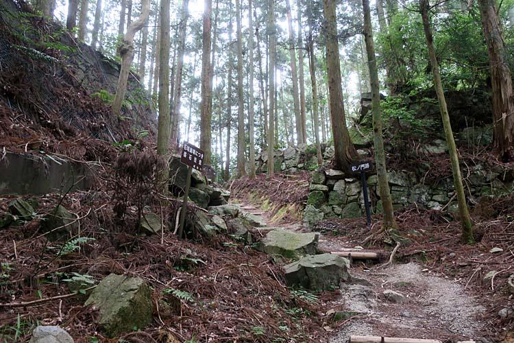 高取城 松ノ門跡