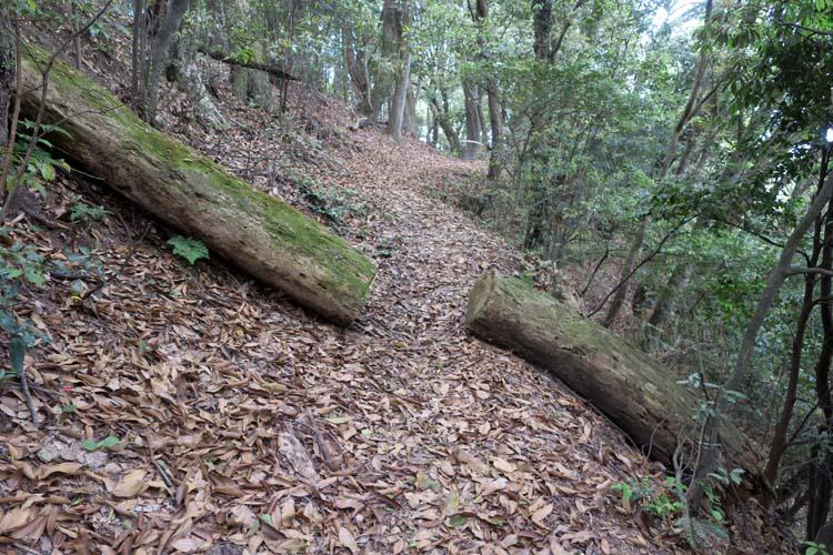 高取城 林道