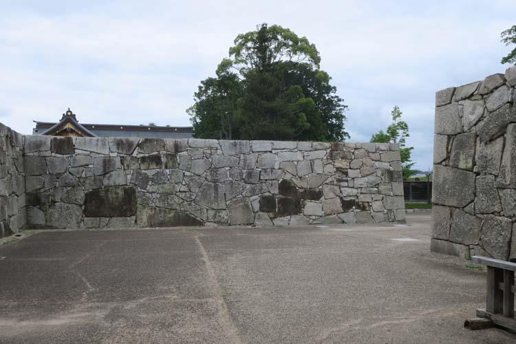 赤穂城 三の丸大手門枡形