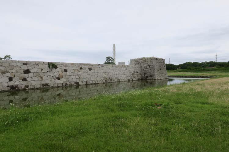 赤穂城 二の丸北隅櫓台