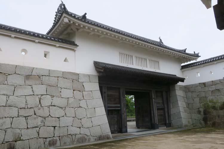 赤穂城 本丸門