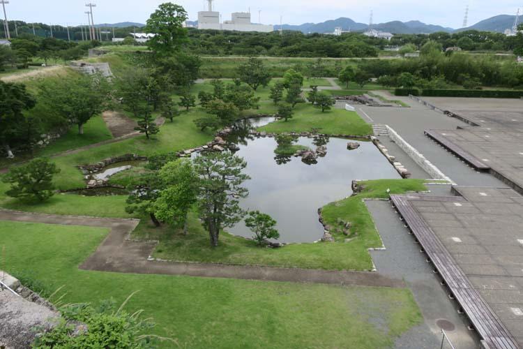 赤穂城 本丸庭園