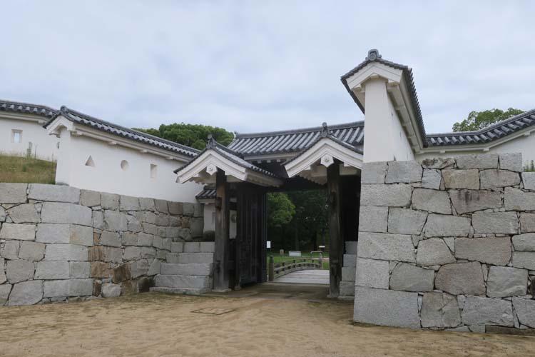 赤穂城 厩口門