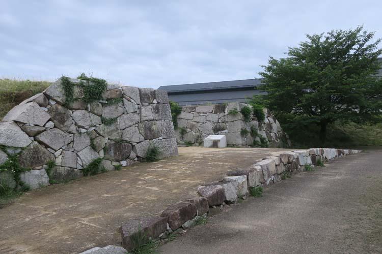 赤穂城 水手門跡