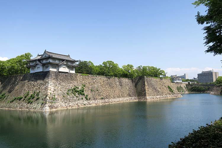 大阪城 大手門方面