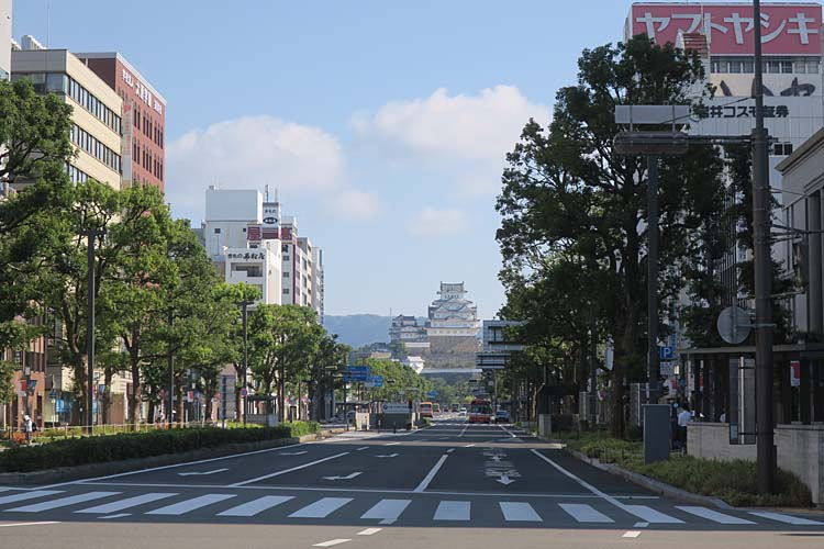 姫路城 大手前通り