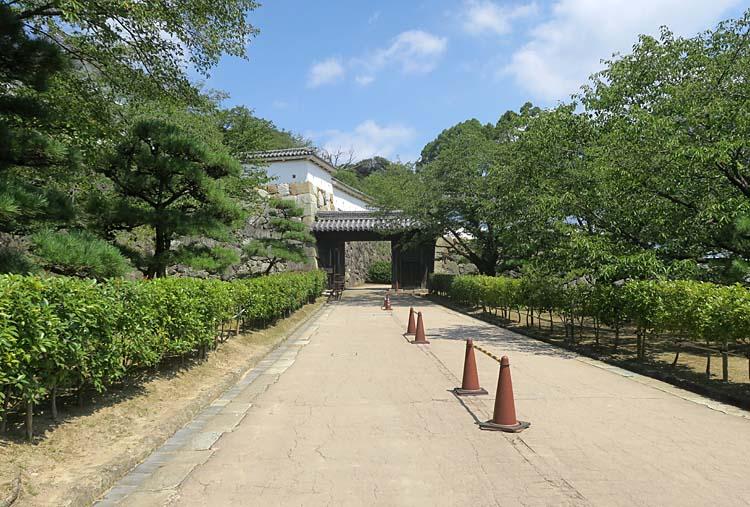 姫路城 いの門