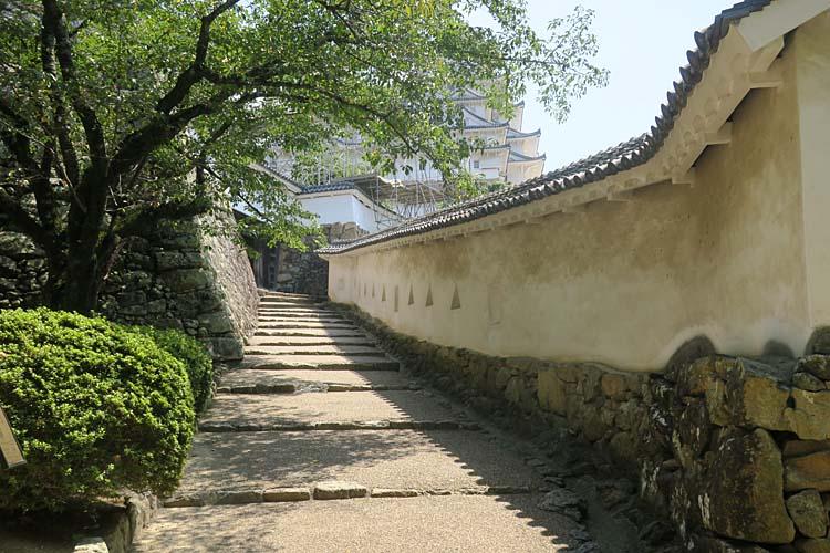 姫路城 将軍坂
