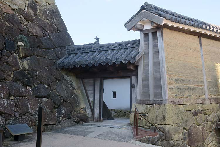 姫路城 水の一門