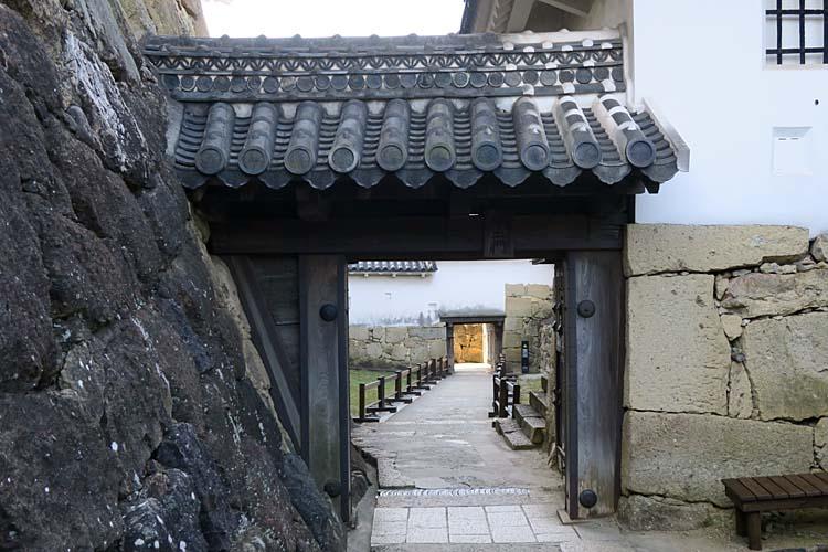 姫路城 水の二門