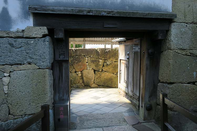 姫路城 水の三門