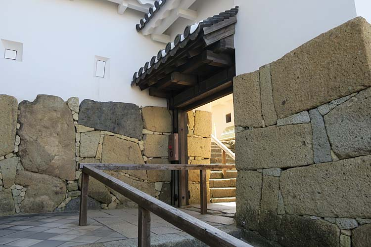 姫路城 水の四門