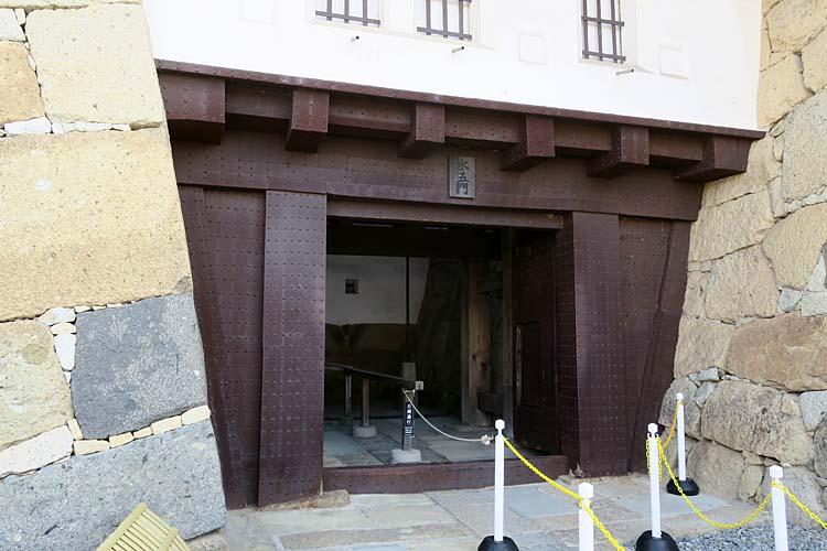 姫路城 水の五門