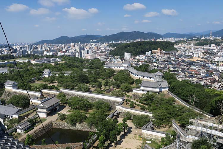 姫路城 天守からの眺め
