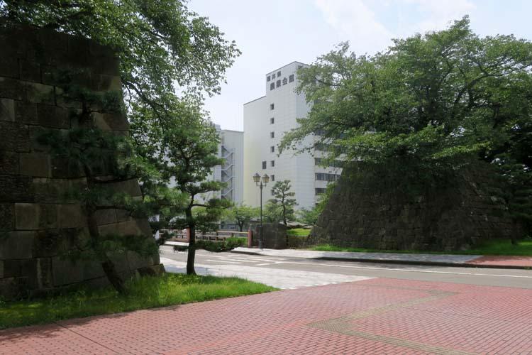 福井城 大手口