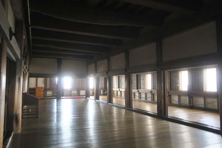 姫路城 天守2階