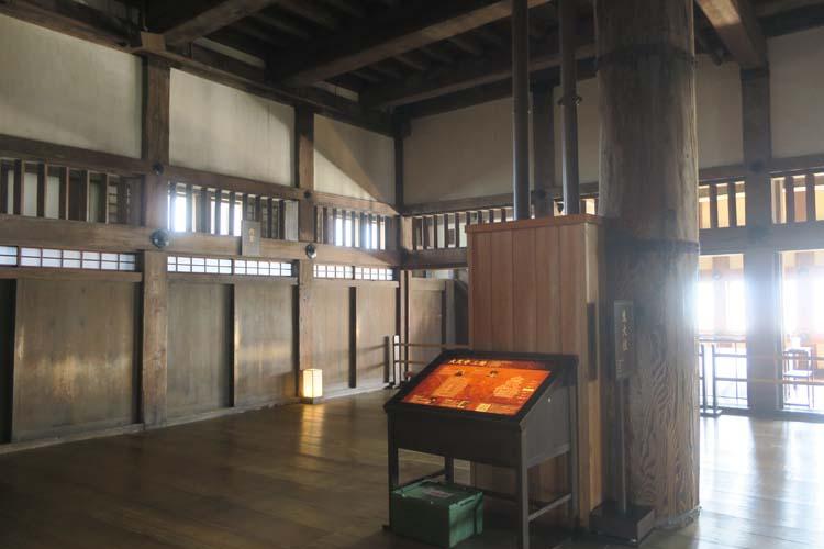 姫路城 天守3階