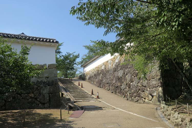 姫路城 西の丸入口