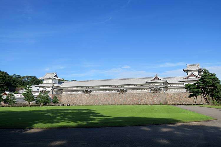 金沢城 三の丸と五十間長屋