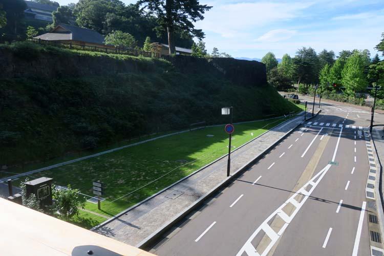 金沢城 堀跡