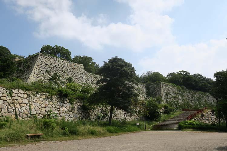 明石城 二の丸