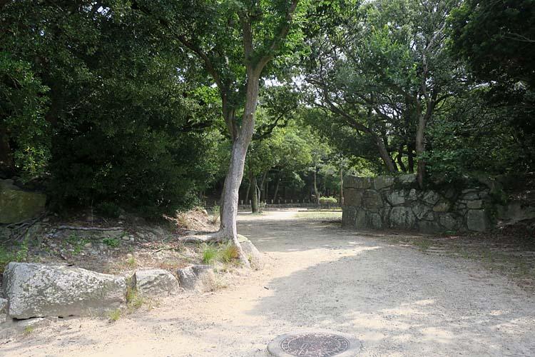 明石城 東の丸