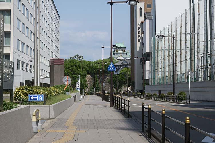 天満橋駅から大阪城へ